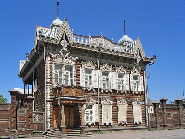 Иркутск, дом Европы